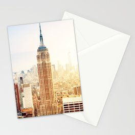Empire State in New York Stationery Cards