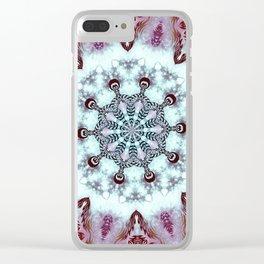 Mandala Dreams Clear iPhone Case
