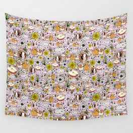 Cute Guinea Pigs Wall Tapestry