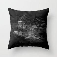 Reaper's Ride Throw Pillow