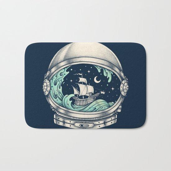 Spaceship Bath Mat
