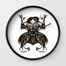 Shamanic travel (shaman walk) Wall Clock