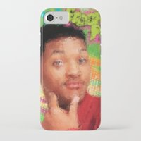 fresh prince iPhone & iPod Cases featuring Will Smith - Fresh Prince by Alice Z.