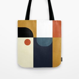 mid century abstract shapes fall winter 4 Tote Bag