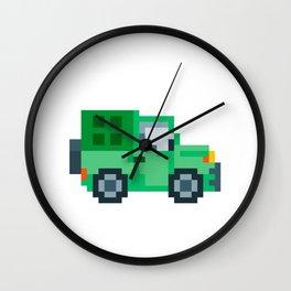 Pixel Jepp Wall Clock