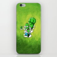 homer iPhone & iPod Skins featuring MAD HOMER by Ylenia Pizzetti