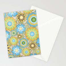 English Country Floral Stationery Cards