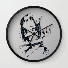 Splaaash Series - Talie Ink Wall Clock