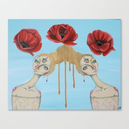 Poppies of Enlightenment Canvas Print