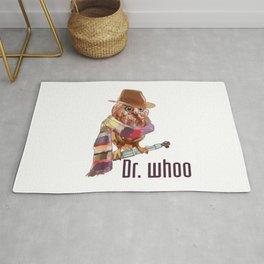 Dr. Who Owl Rug