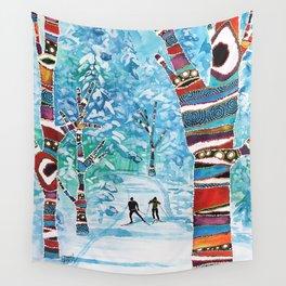 Forelsket ('Falling in Love' in Norwegian) Wall Tapestry