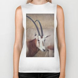 Scimitar oryx Biker Tank