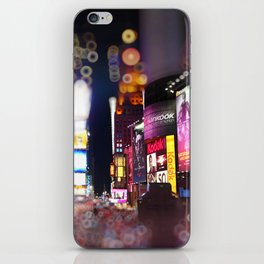 Times Square Blurrr-Bokeh iPhone Skin