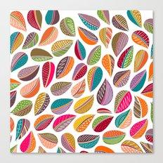 Leaf Colorful Canvas Print