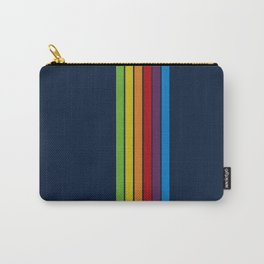 iRetro Vertical Pacific Blue  Carry-All Pouch