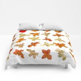 Orange Peel Party Comforters