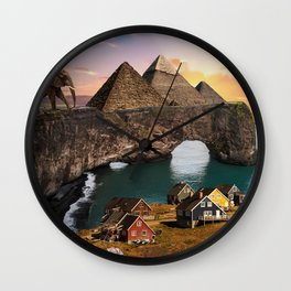 A Diverse Land Wall Clock