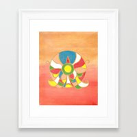 spain Framed Art Prints featuring Spain by Beegy Green