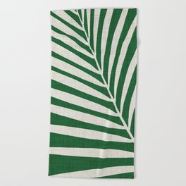 Minimalist Palm Leaf Beach Towel