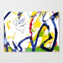 Vivaldi `Summer'   3rd Movement. Nigel Kennedy.     by Kay Lipton Canvas Print