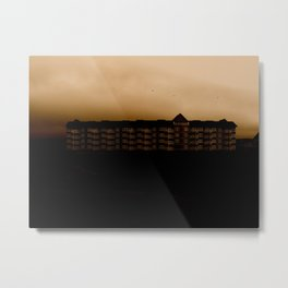 House of Brown Metal Print