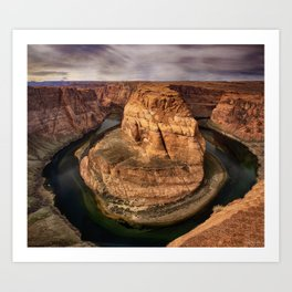Horseshoe Bend - Arizona Art Print