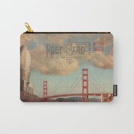 GROUND CONTROL - San Francisco Carry-All Pouch