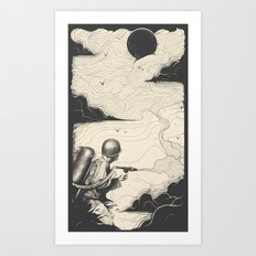 Sky Thrower Art Print