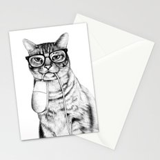Mac Cat Stationery Cards