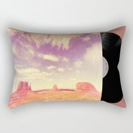 Navajo Country - America As Vintage Album Art Rectangular Pillow