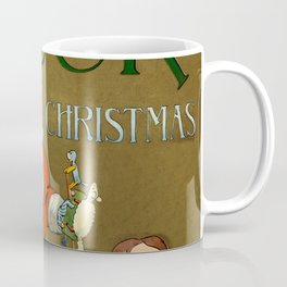 1901 Puck Magazine Christmas issue Santa children Coffee Mug