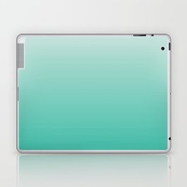 Mint Ombre Laptop & iPad Skin