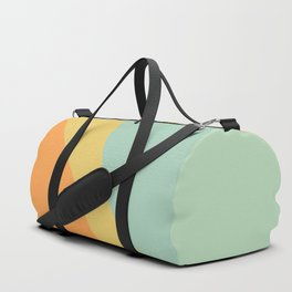 Abstract Color Waves - Bright Rainbow Duffle Bag