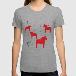 God jul - Dala style T-shirt