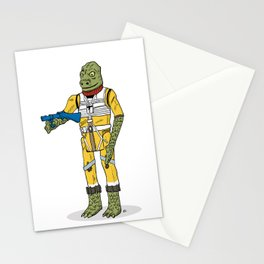 Bossk Action Figure Stationery Cards