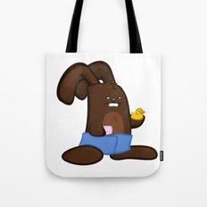 Towel Bunny Tote Bag