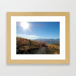 Cowan's Hill Framed Art Print