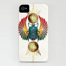 egyptian beetle iPhone (4, 4s) Slim Case