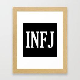 INFJ Framed Art Print