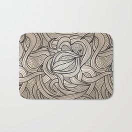 Beautiful Swirls Bath Mat