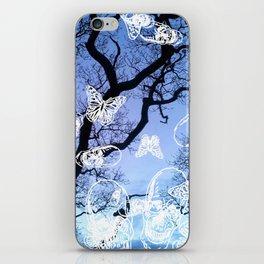 Llansteffan woodland iPhone Skin