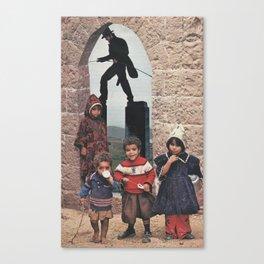 Outdoor Shenanigans Canvas Print