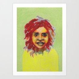 Les petites filles I.29 Art Print