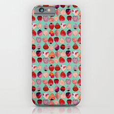 Strawberry Pattern iPhone 6s Slim Case
