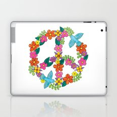 Flower Peace Sign Laptop & iPad Skin