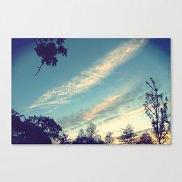 London Skys Canvas Print