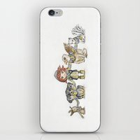 holiday iPhone & iPod Skins featuring Holiday by Freeminds