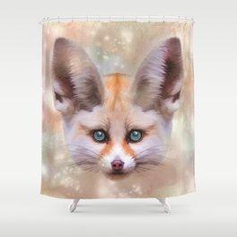 Fennec Fox Shower Curtain