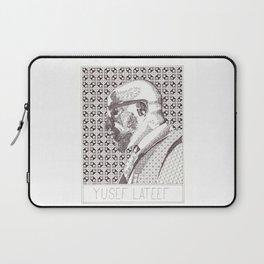 Yusef Lateef Jazz Portrait Laptop Sleeve