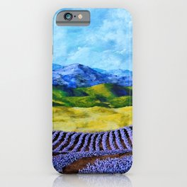 Lavender In Provence iPhone Case